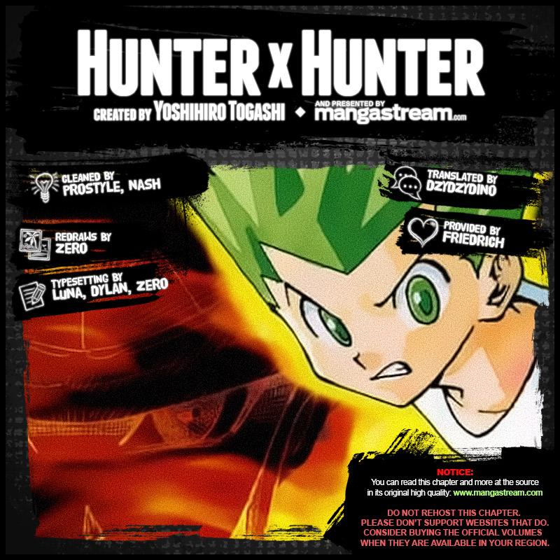 Hunter X Hunter Chapter 378  Online Free Manga Read Image 2