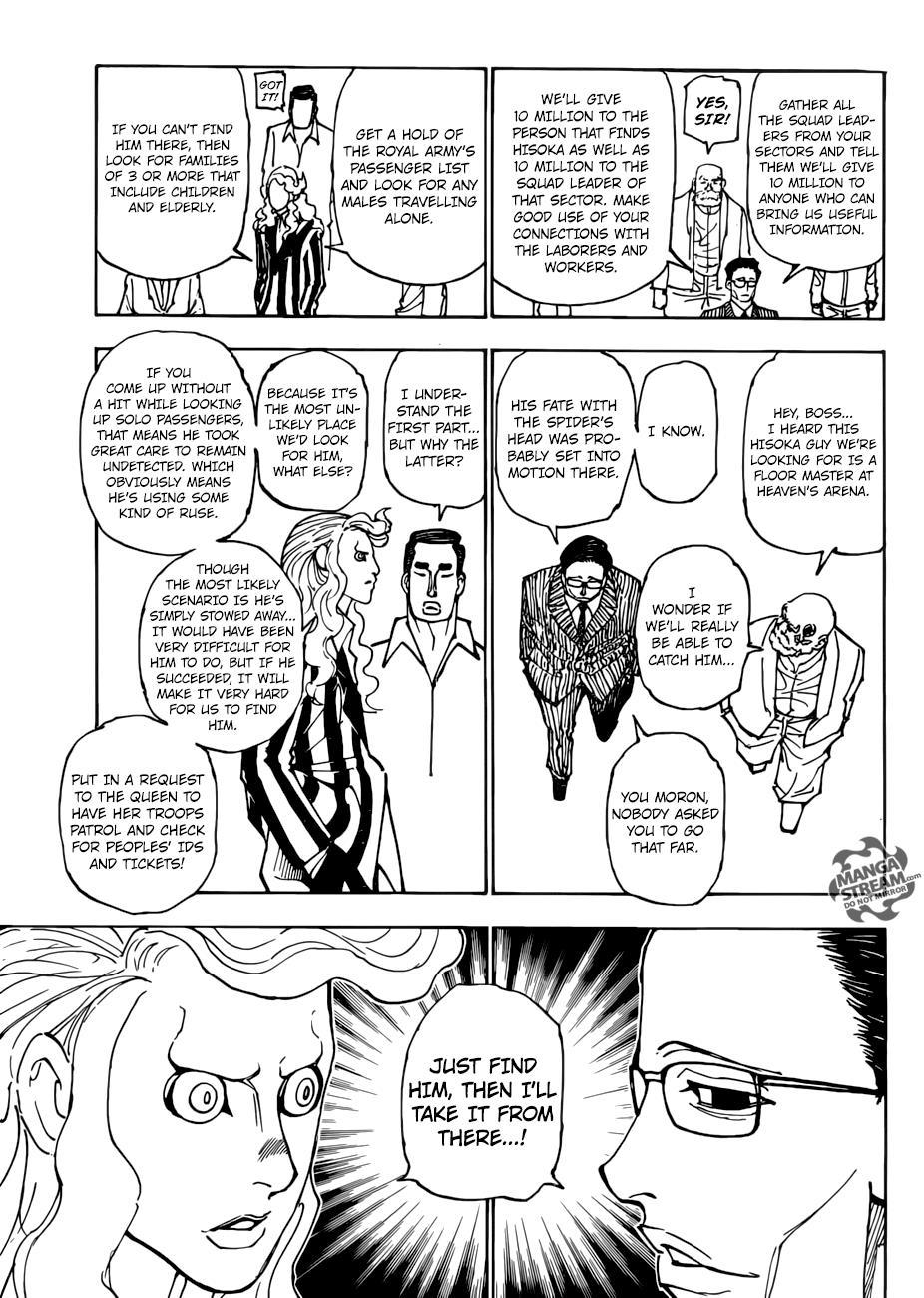 Hunter X Hunter Chapter 378  Online Free Manga Read Image 6
