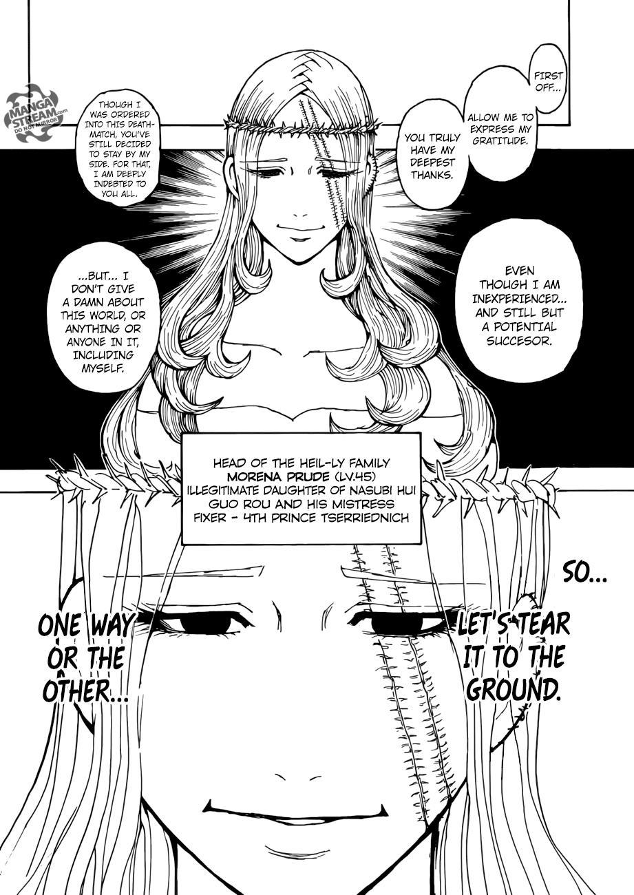 Hunter X Hunter Chapter 378  Online Free Manga Read Image 7