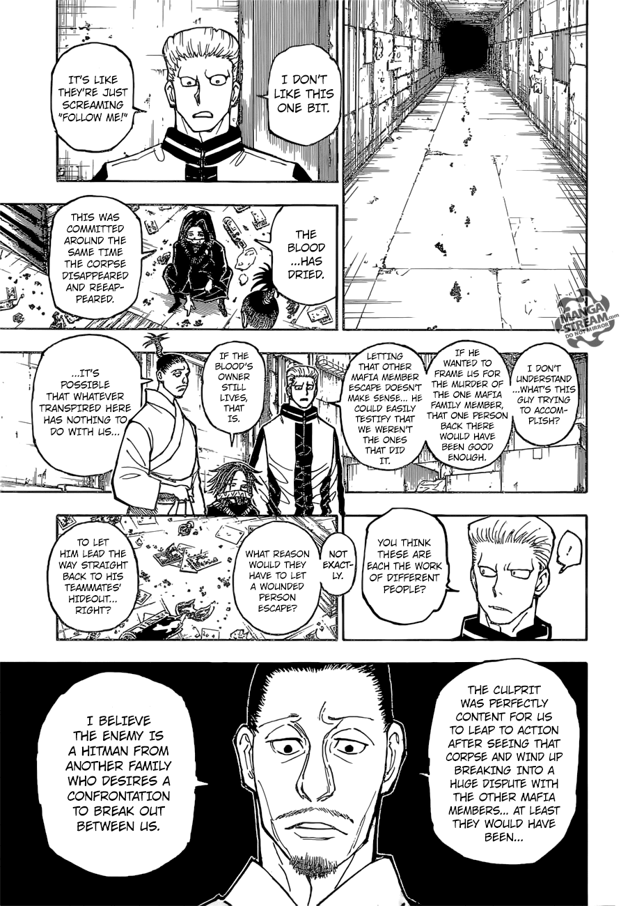 Hunter X Hunter Chapter 379  Online Free Manga Read Image 10