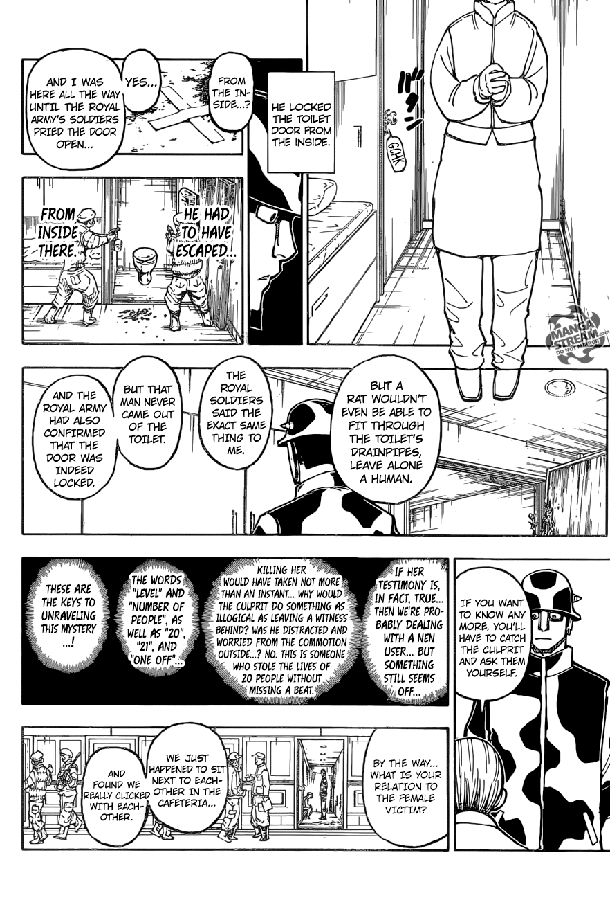 Hunter X Hunter Chapter 379  Online Free Manga Read Image 5