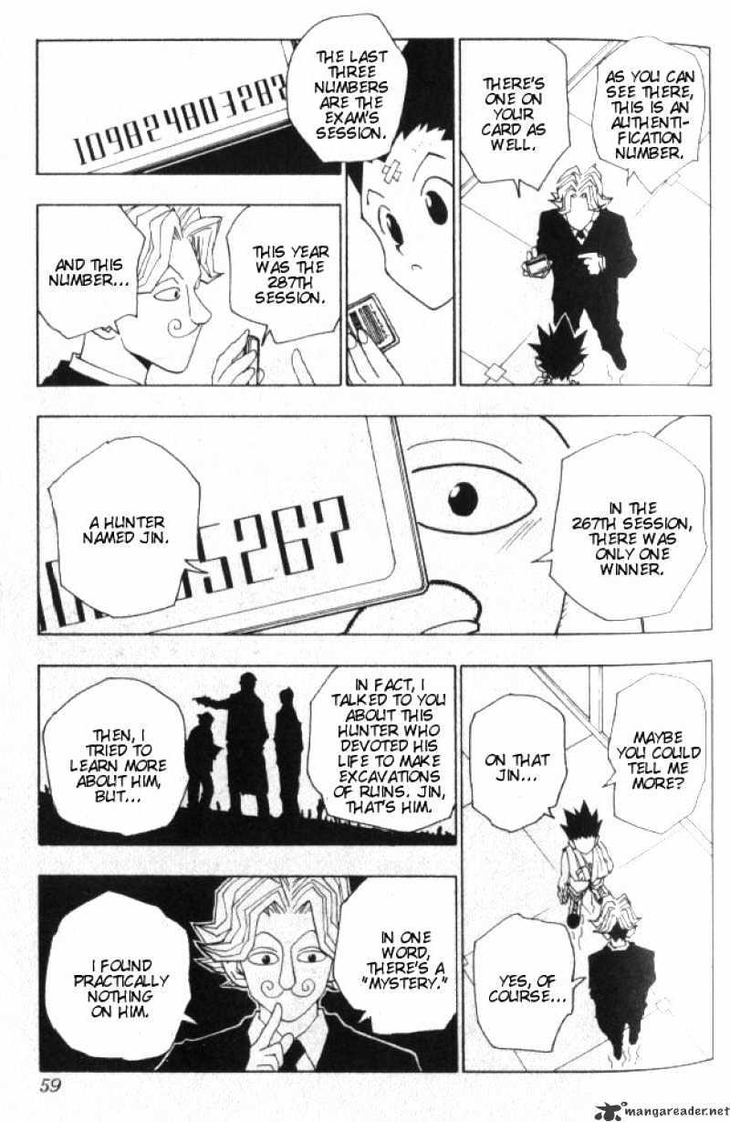 Hunter X Hunter Chapter 38  Online Free Manga Read Image 14