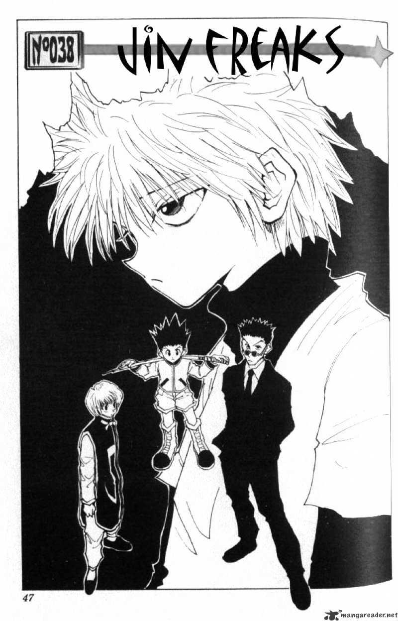 Hunter X Hunter Chapter 38  Online Free Manga Read Image 2