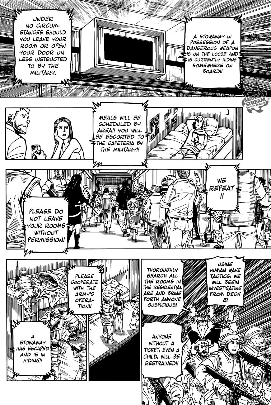 Hunter X Hunter Chapter 380  Online Free Manga Read Image 12