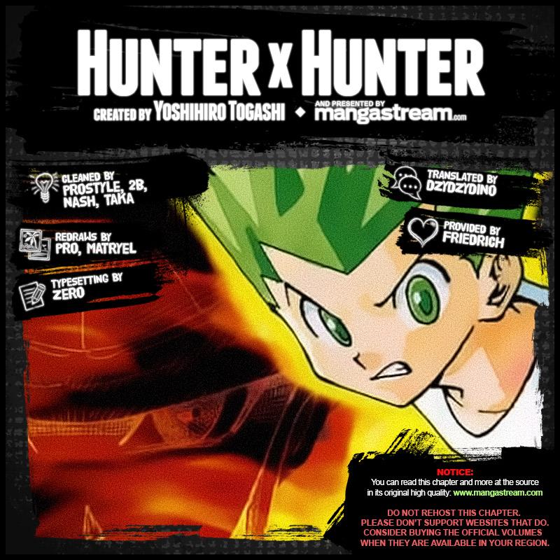 Hunter X Hunter Chapter 380  Online Free Manga Read Image 2