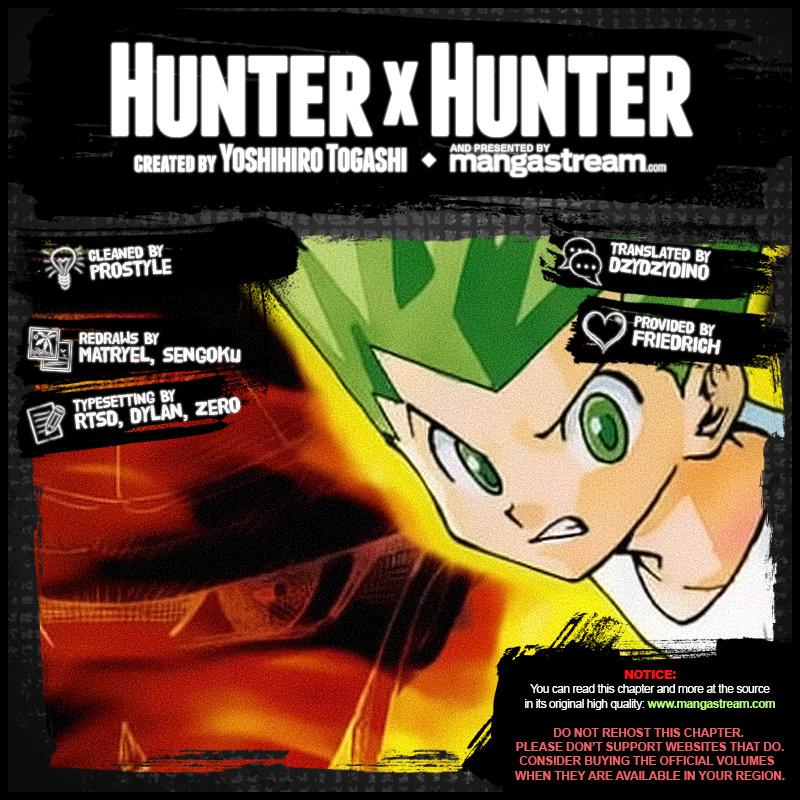 Hunter X Hunter Chapter 381  Online Free Manga Read Image 2