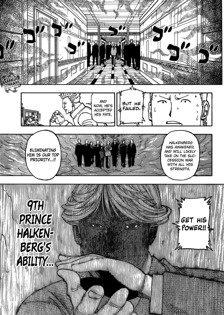 Hunter X Hunter Chapter 382  Online Free Manga Read Image 13