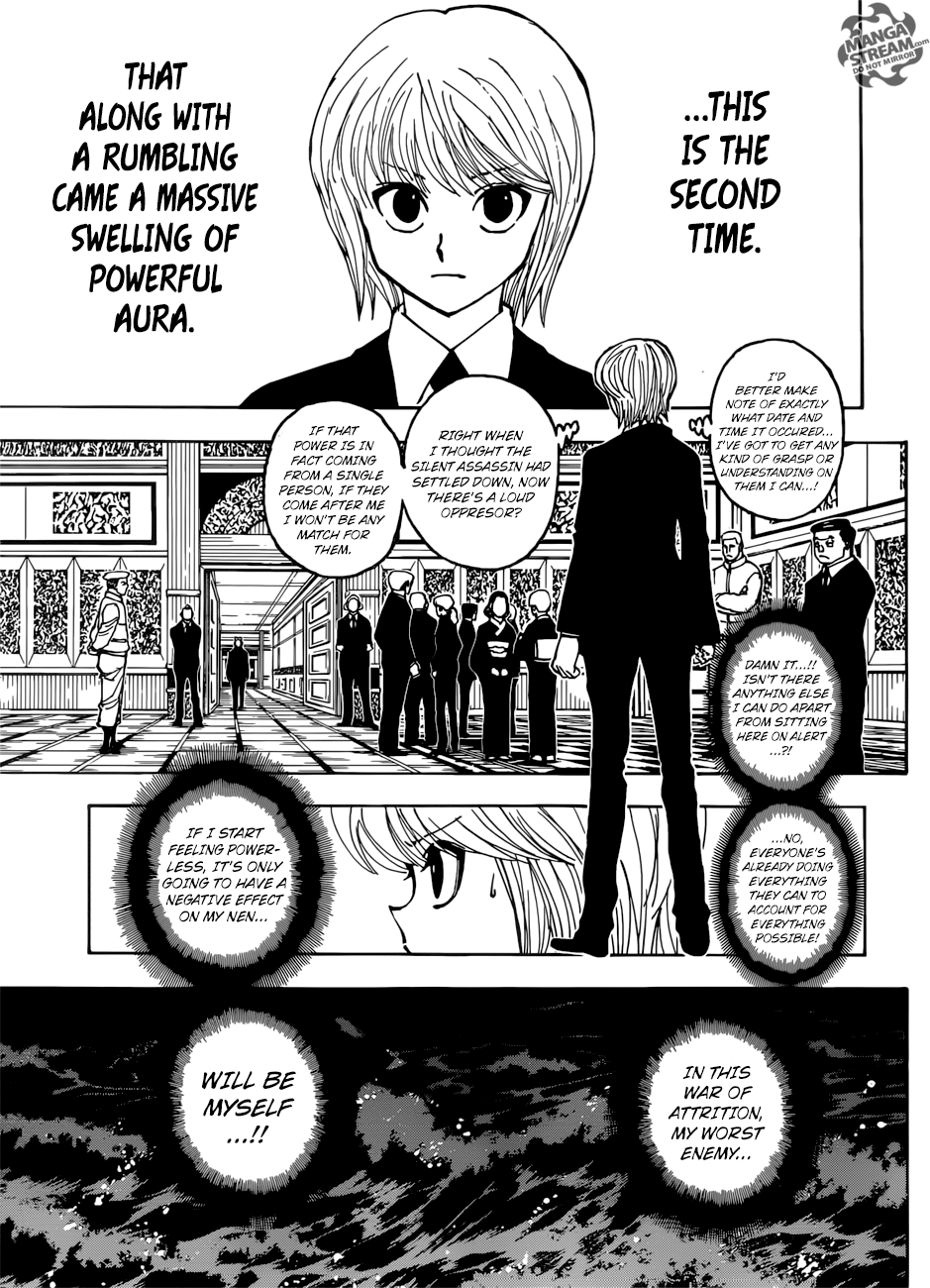 Hunter X Hunter Chapter 382  Online Free Manga Read Image 17