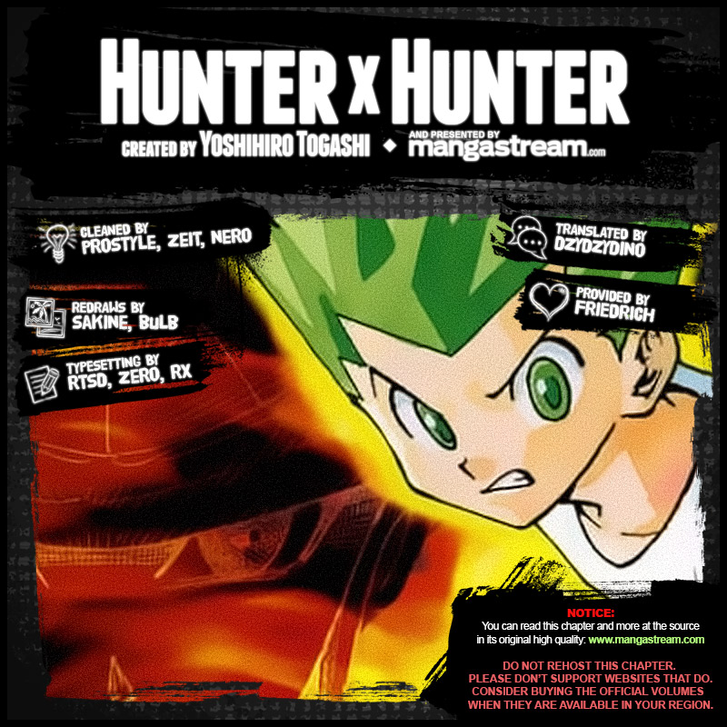 Hunter X Hunter Chapter 382  Online Free Manga Read Image 2