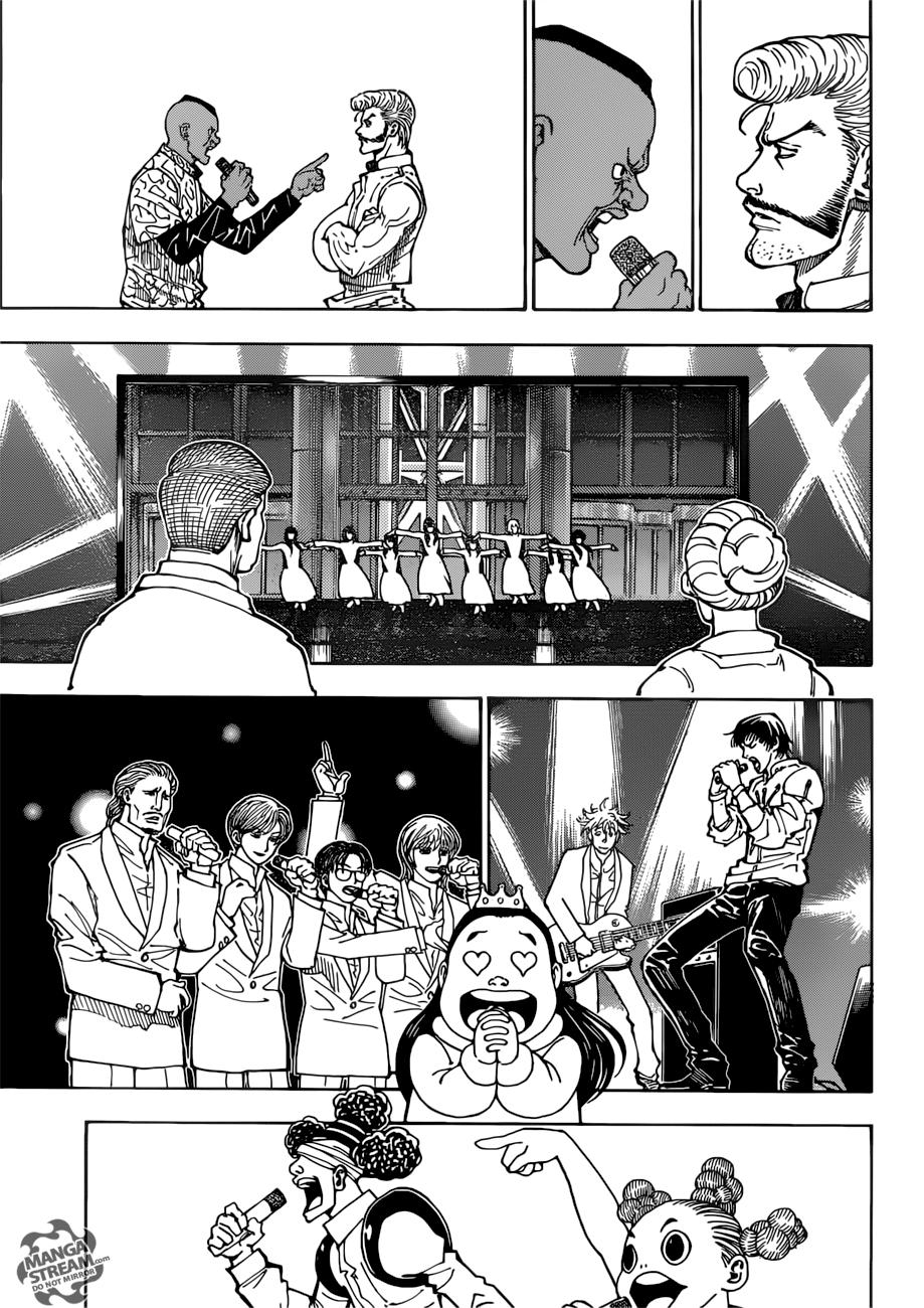 Hunter X Hunter Chapter 383  Online Free Manga Read Image 4