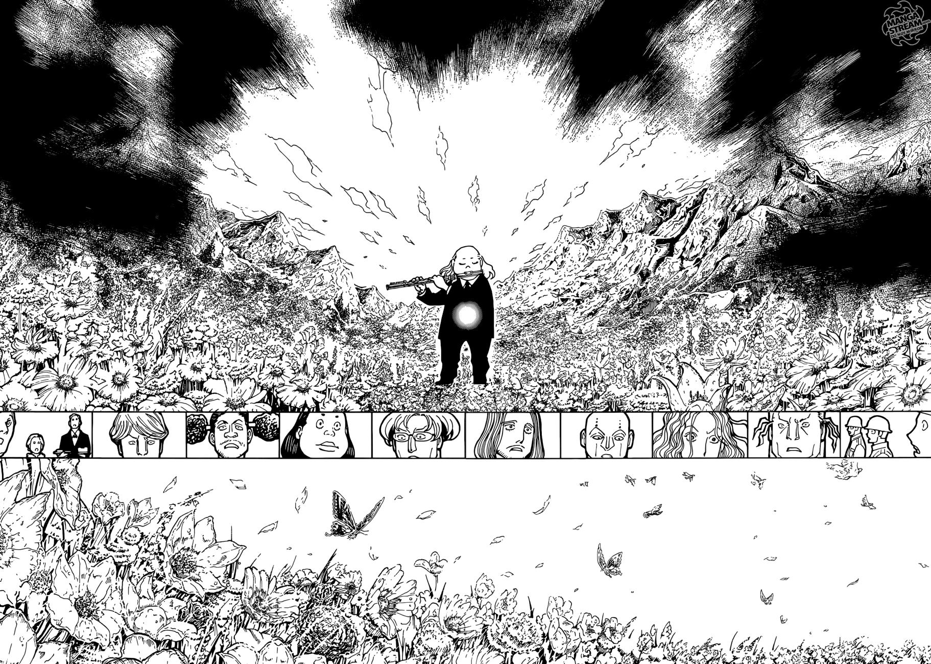 Hunter X Hunter Chapter 383  Online Free Manga Read Image 9
