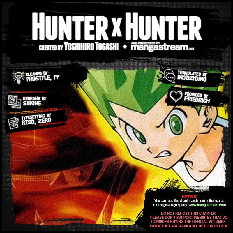 Hunter X Hunter Chapter 384  Online Free Manga Read Image 2