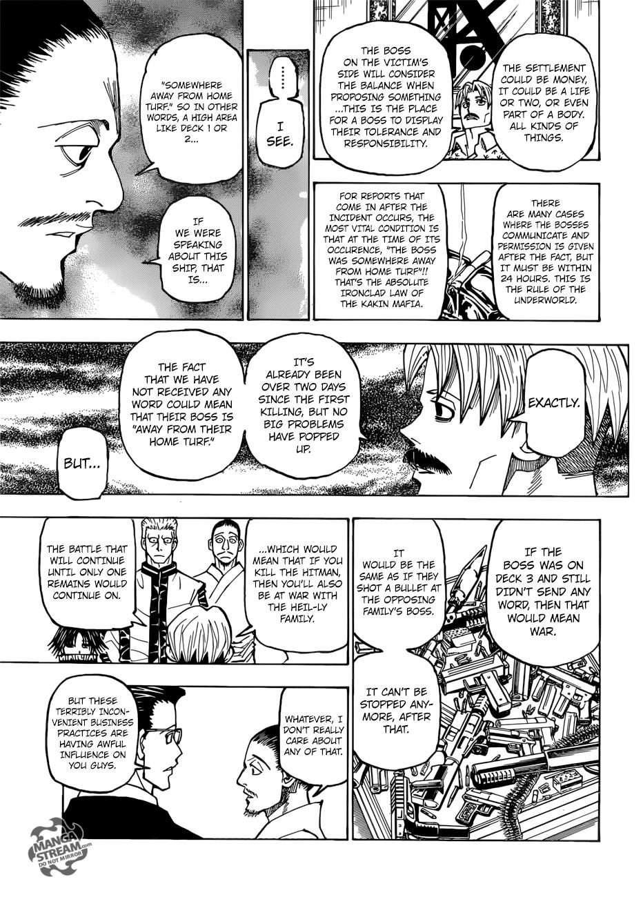 Hunter X Hunter Chapter 384  Online Free Manga Read Image 6
