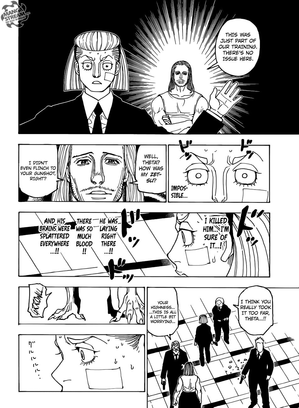 Hunter X Hunter Chapter 385  Online Free Manga Read Image 15