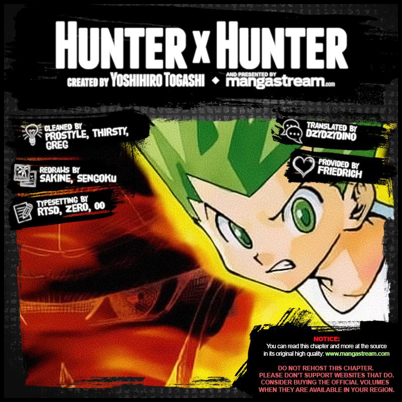Hunter X Hunter Chapter 385  Online Free Manga Read Image 2