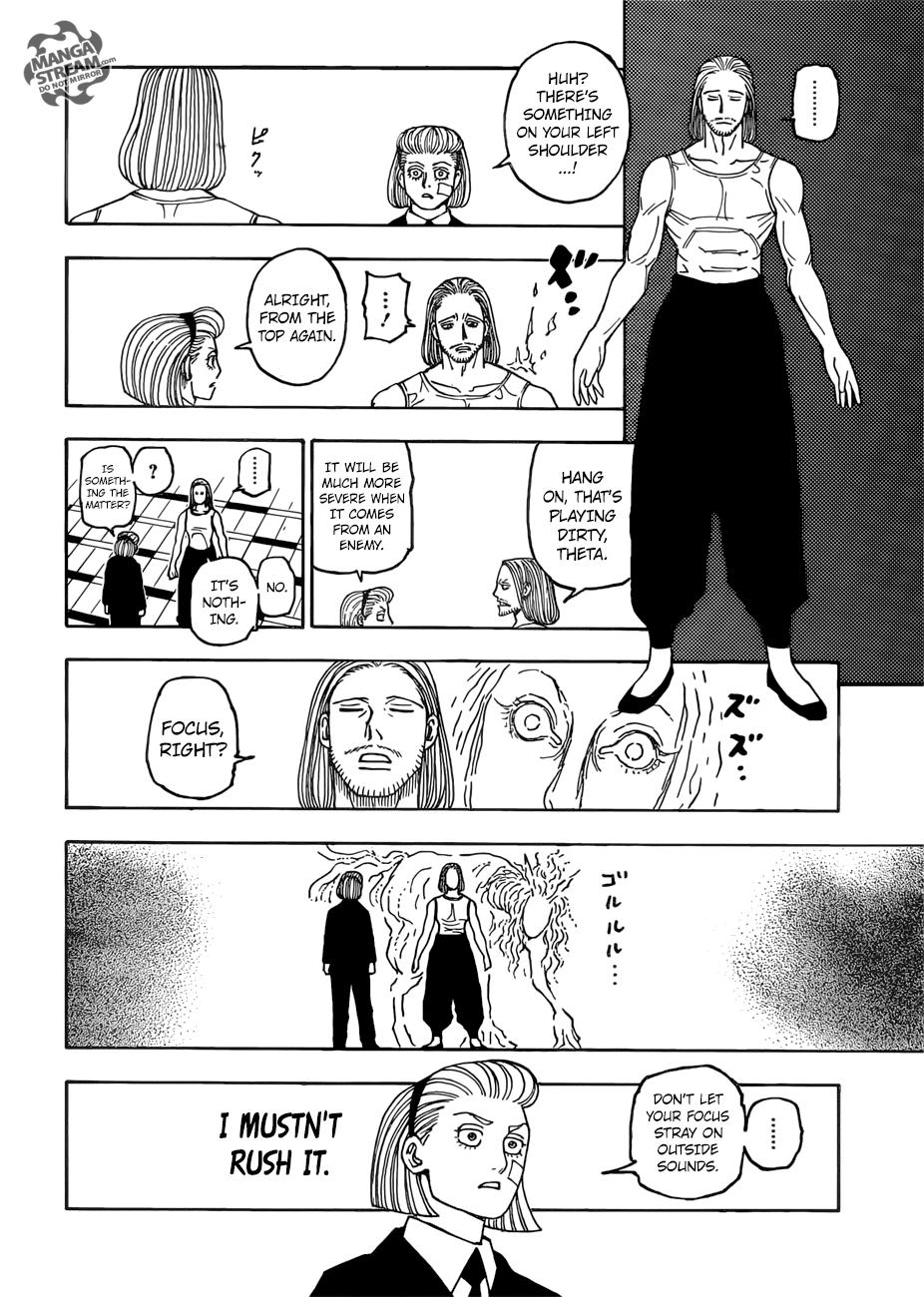Hunter X Hunter Chapter 385  Online Free Manga Read Image 3