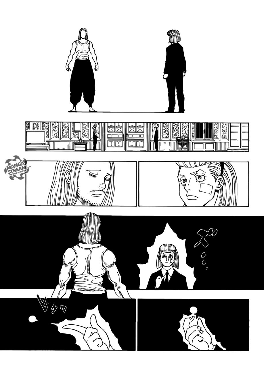 Hunter X Hunter Chapter 385  Online Free Manga Read Image 6