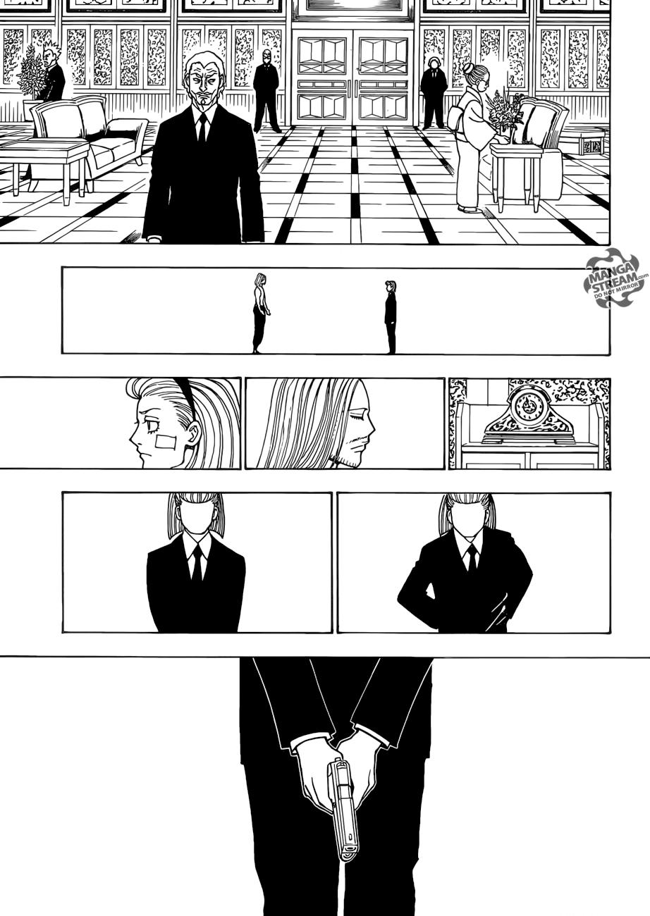Hunter X Hunter Chapter 385  Online Free Manga Read Image 8