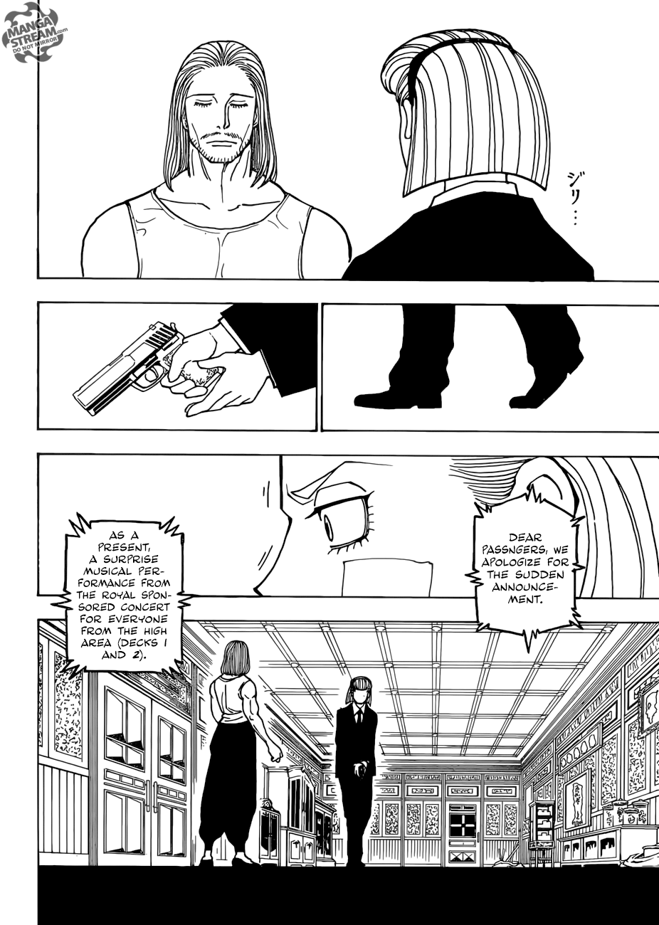 Hunter X Hunter Chapter 385  Online Free Manga Read Image 9