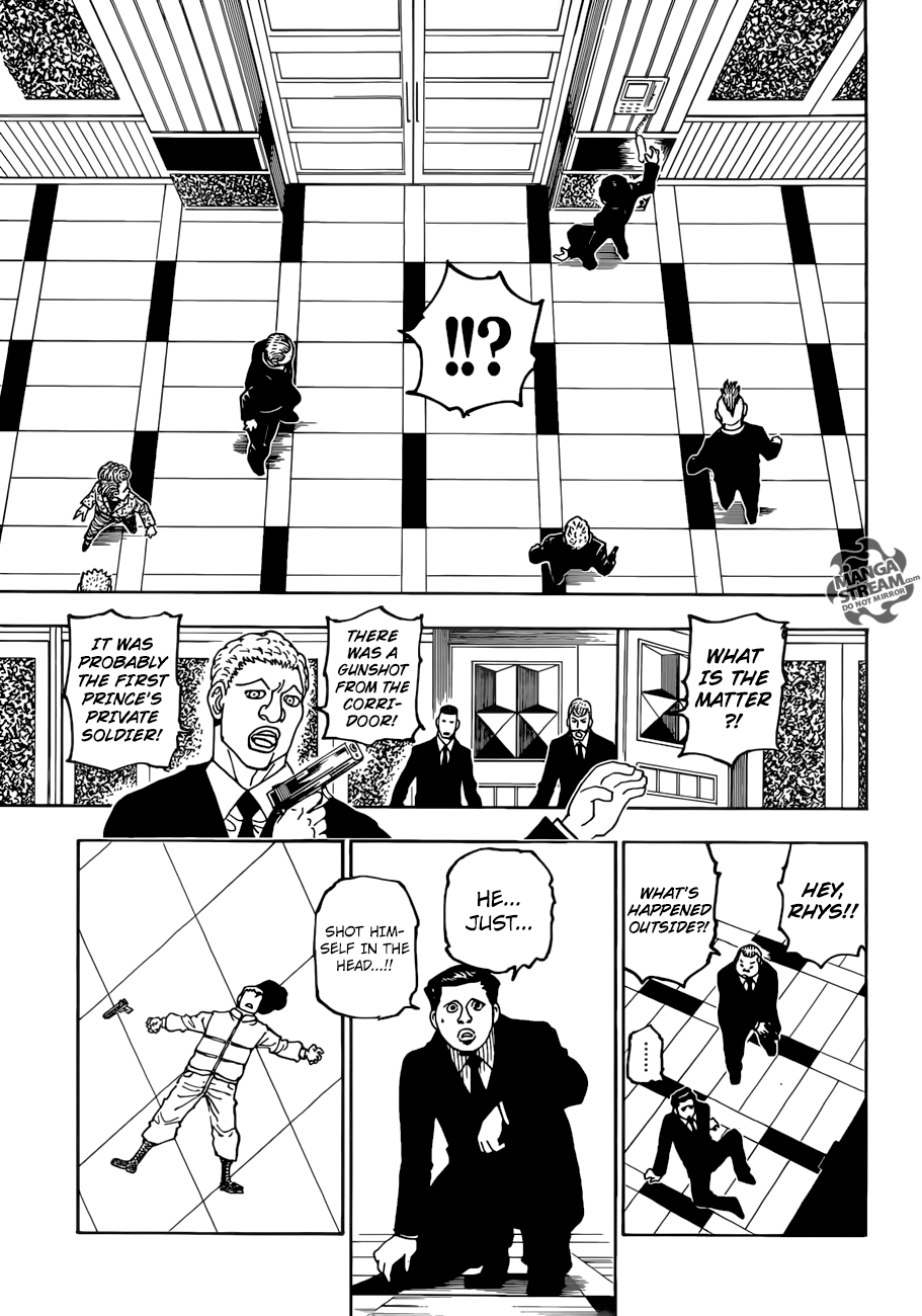 Hunter X Hunter Chapter 386  Online Free Manga Read Image 12