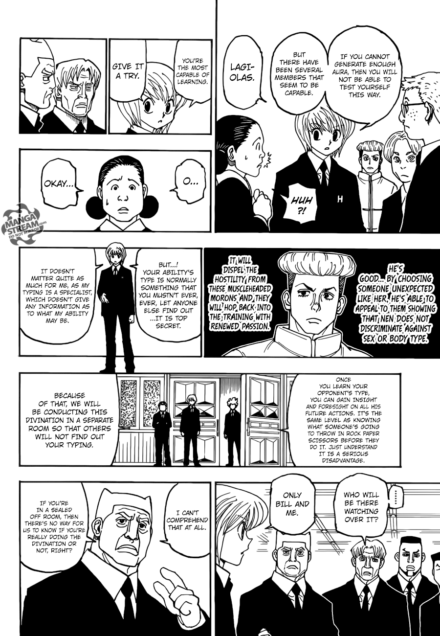 Hunter X Hunter Chapter 386  Online Free Manga Read Image 17