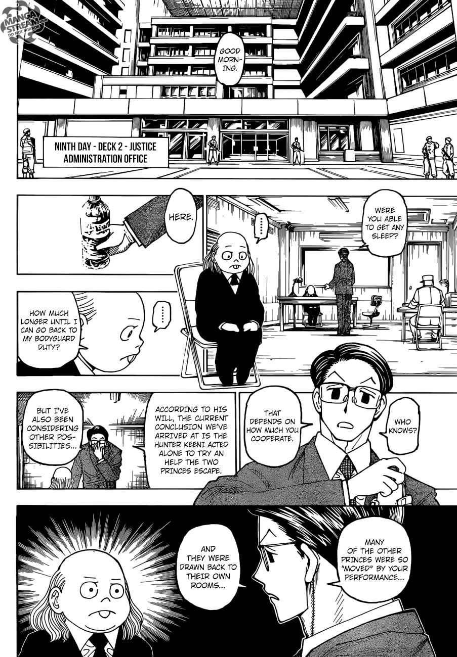 Hunter X Hunter Chapter 386  Online Free Manga Read Image 3