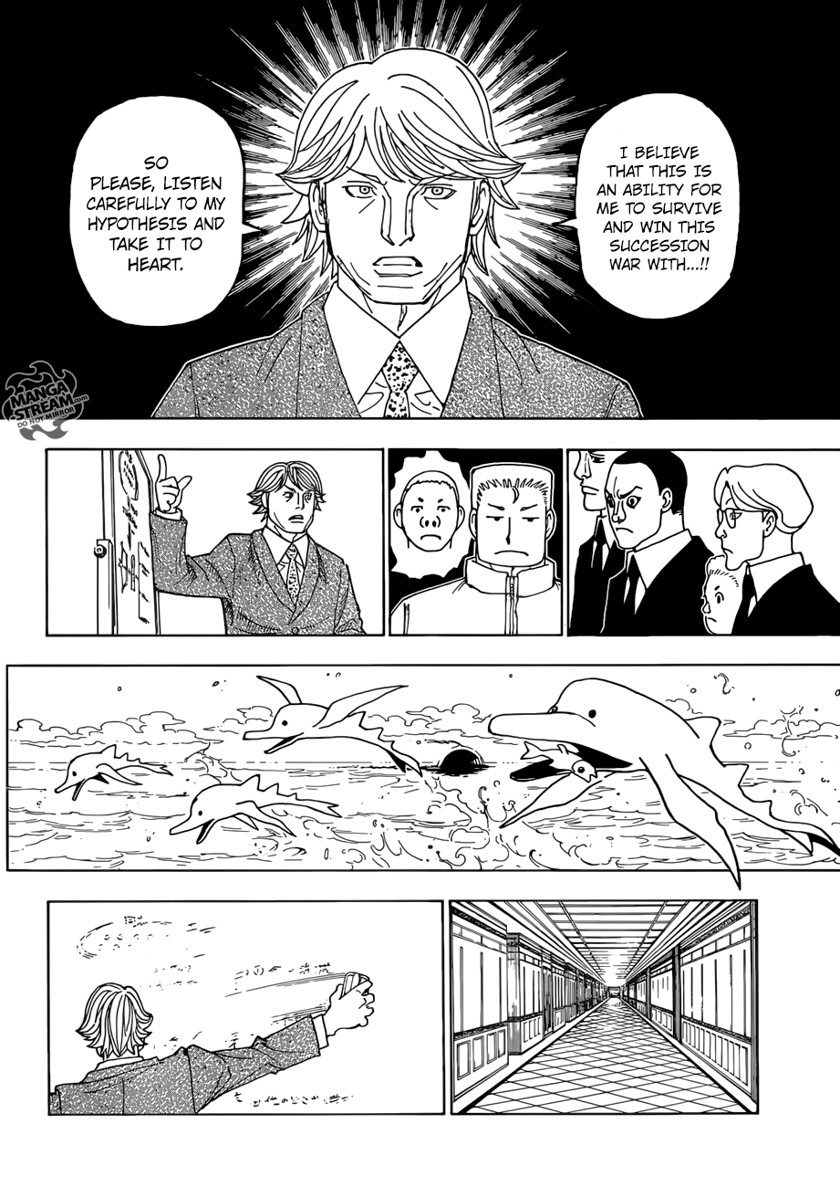 Hunter X Hunter Chapter 386  Online Free Manga Read Image 7