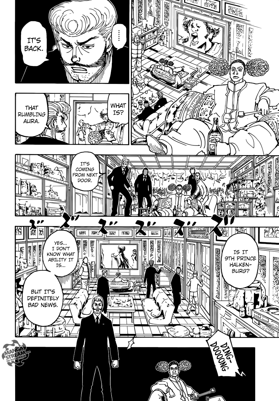 Hunter X Hunter Chapter 386  Online Free Manga Read Image 9