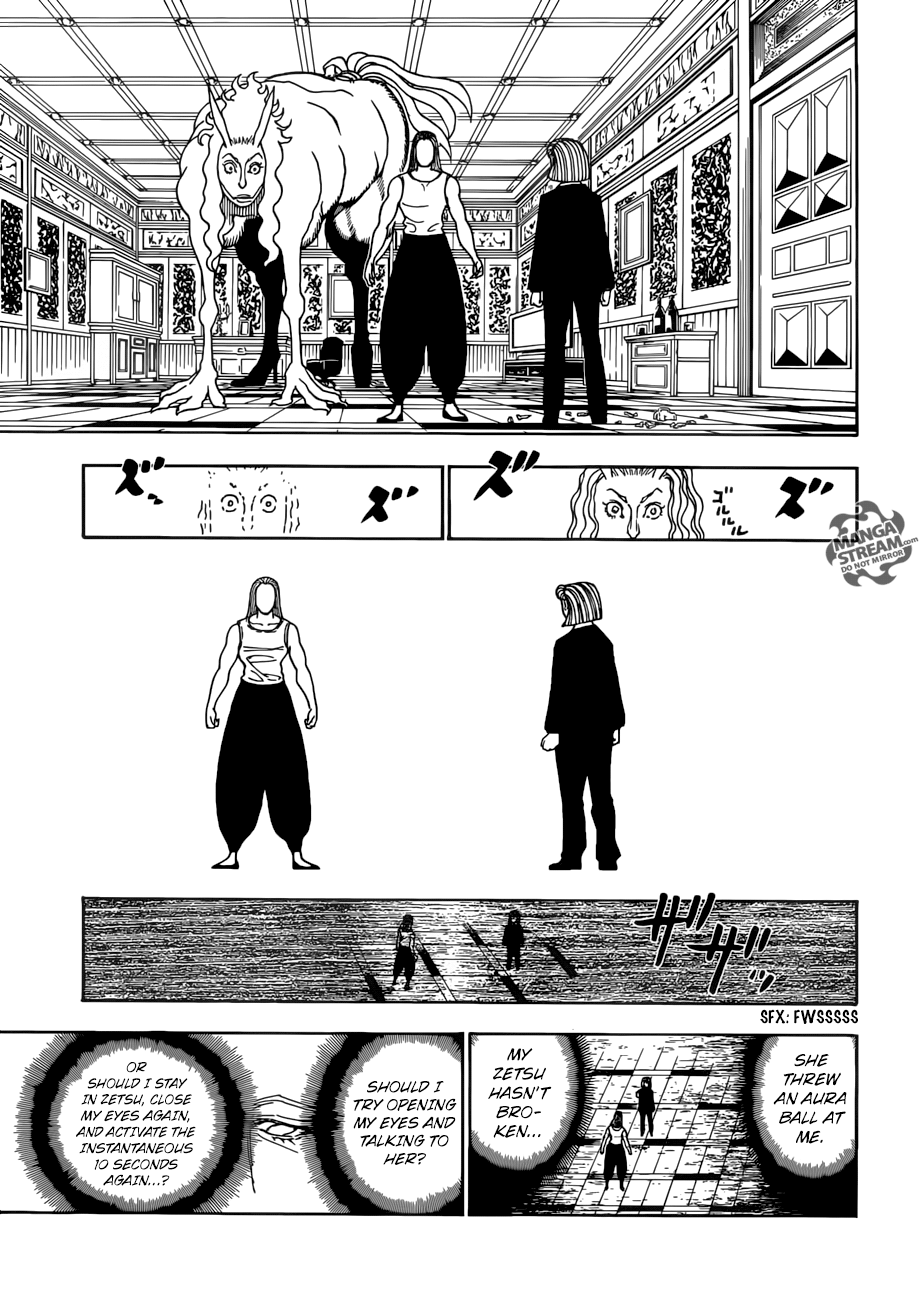 Hunter X Hunter Chapter 387  Online Free Manga Read Image 10