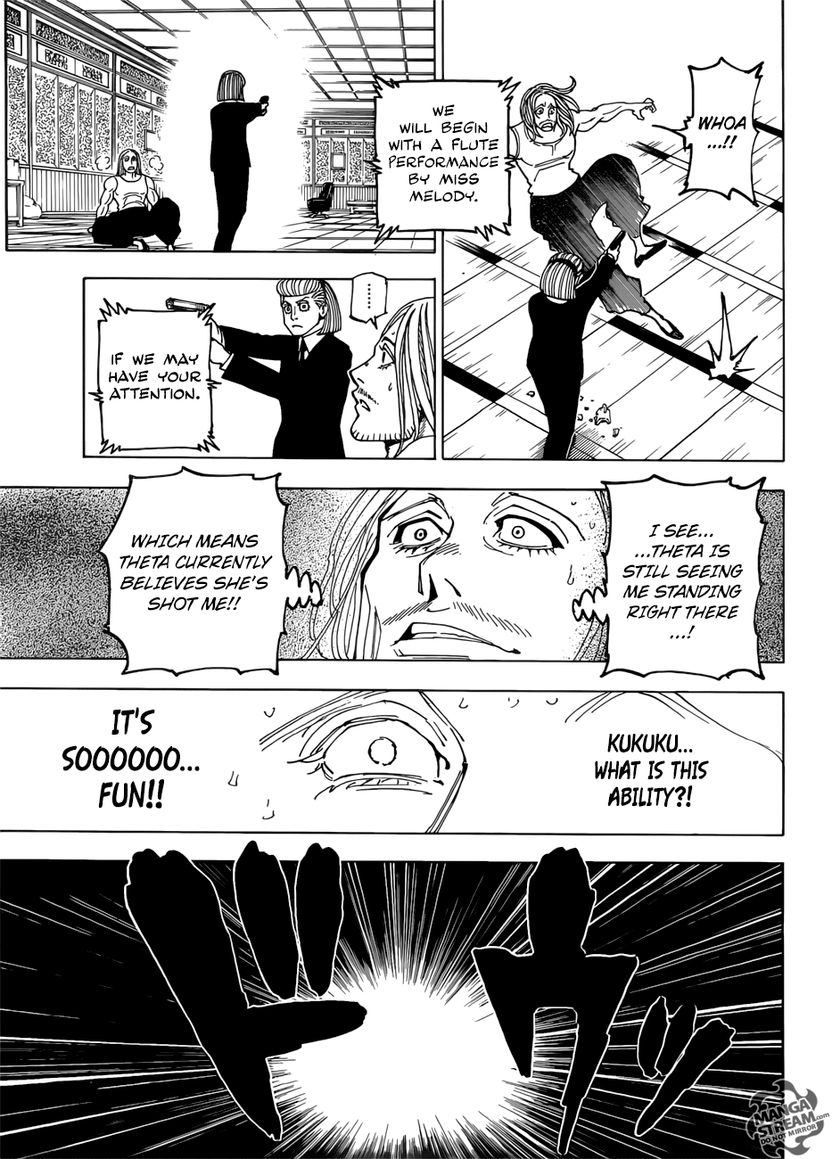 Hunter X Hunter Chapter 387  Online Free Manga Read Image 14