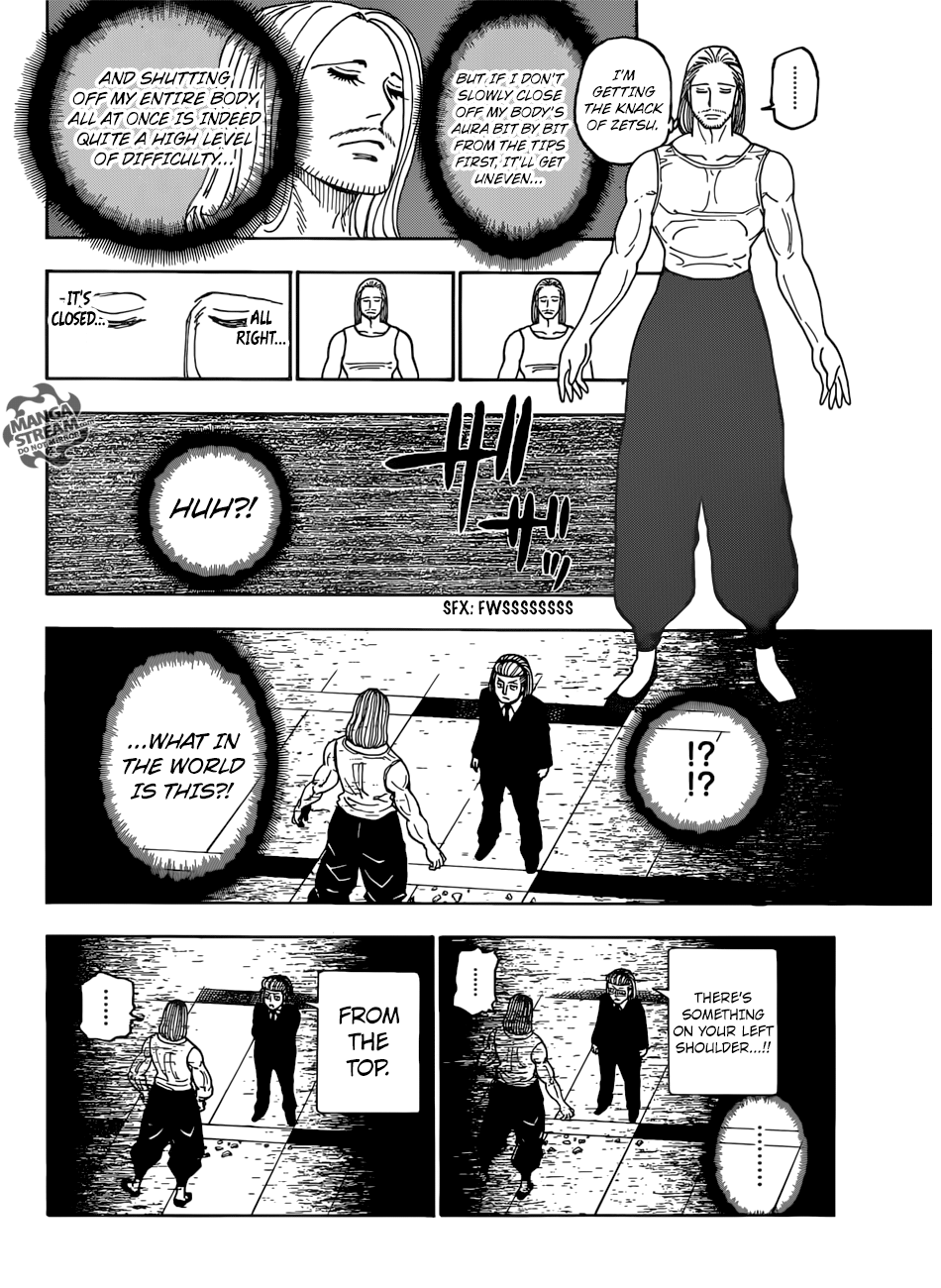 Hunter X Hunter Chapter 387  Online Free Manga Read Image 3
