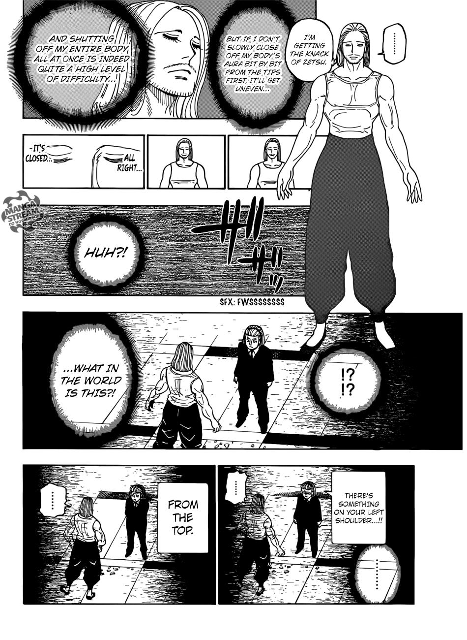 Hunter X Hunter Chapter 387  Online Free Manga Read Image 3