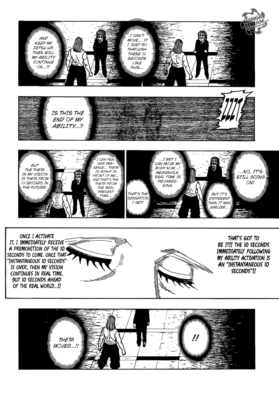 Hunter X Hunter Chapter 387  Online Free Manga Read Image 7