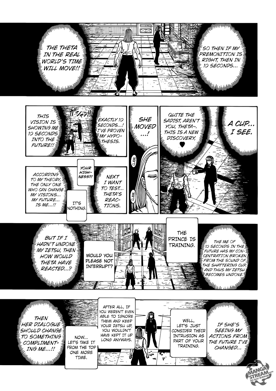 Hunter X Hunter Chapter 387  Online Free Manga Read Image 8