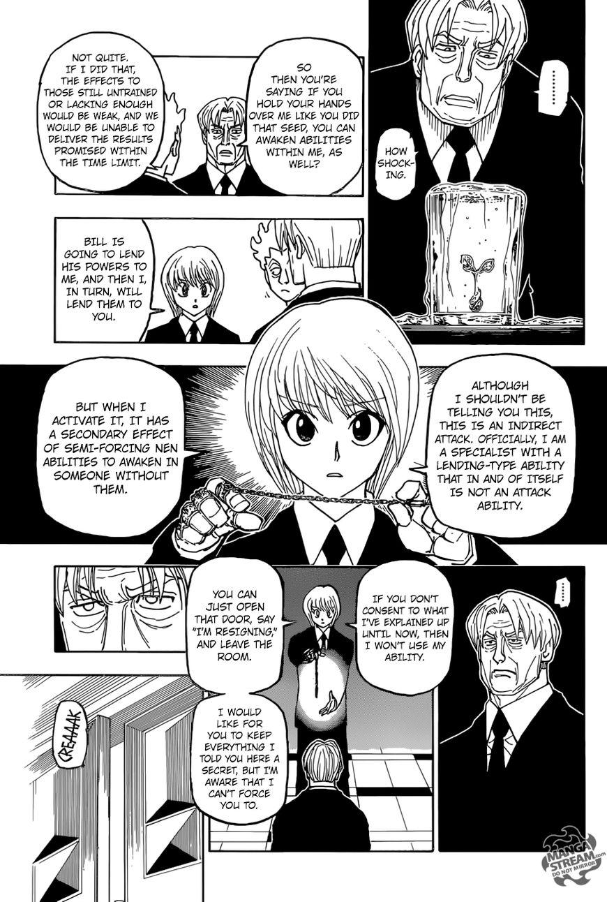 Hunter X Hunter Chapter 388  Online Free Manga Read Image 10