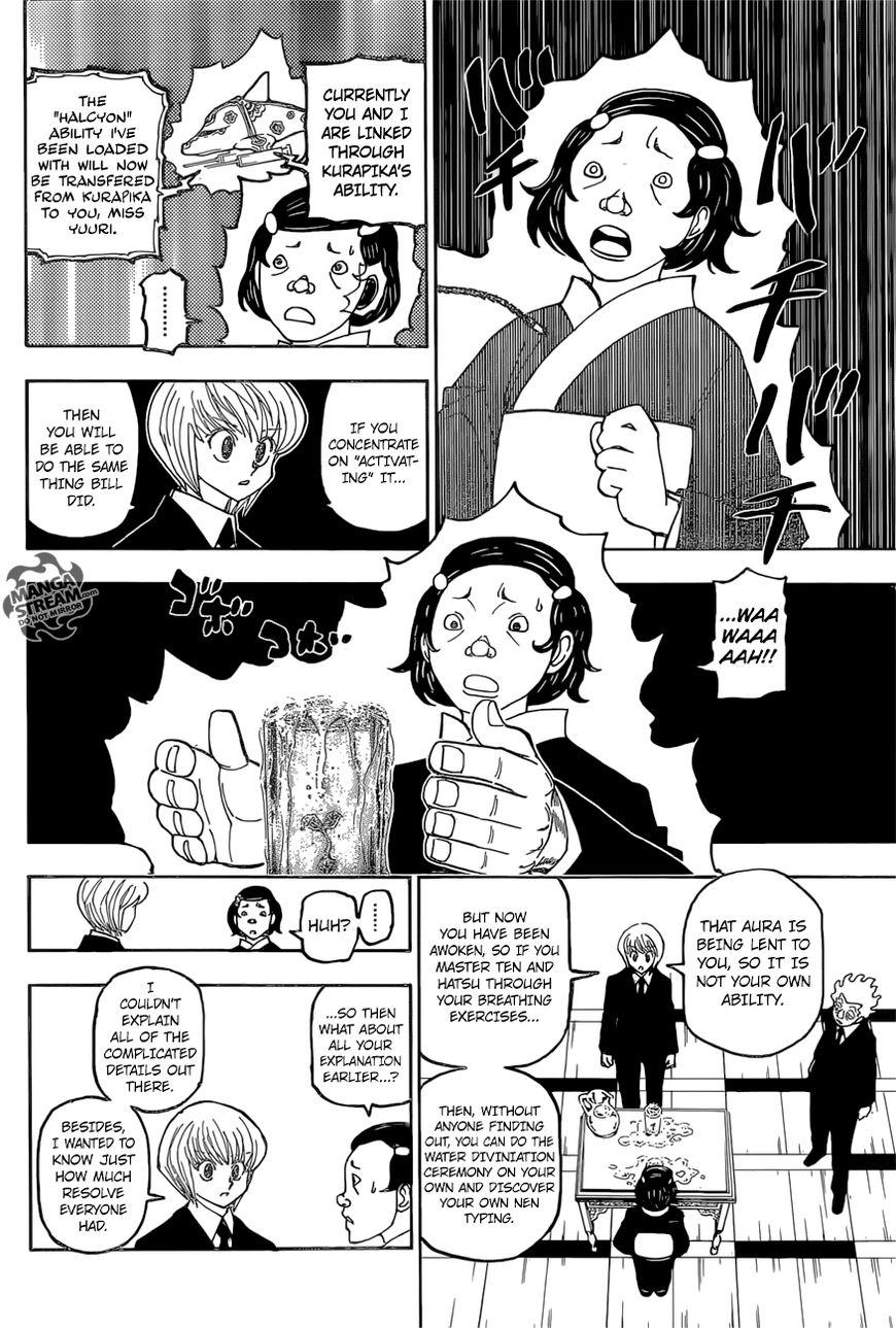 Hunter X Hunter Chapter 388  Online Free Manga Read Image 13