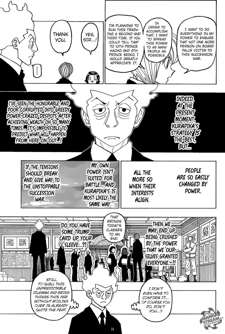 Hunter X Hunter Chapter 388  Online Free Manga Read Image 14