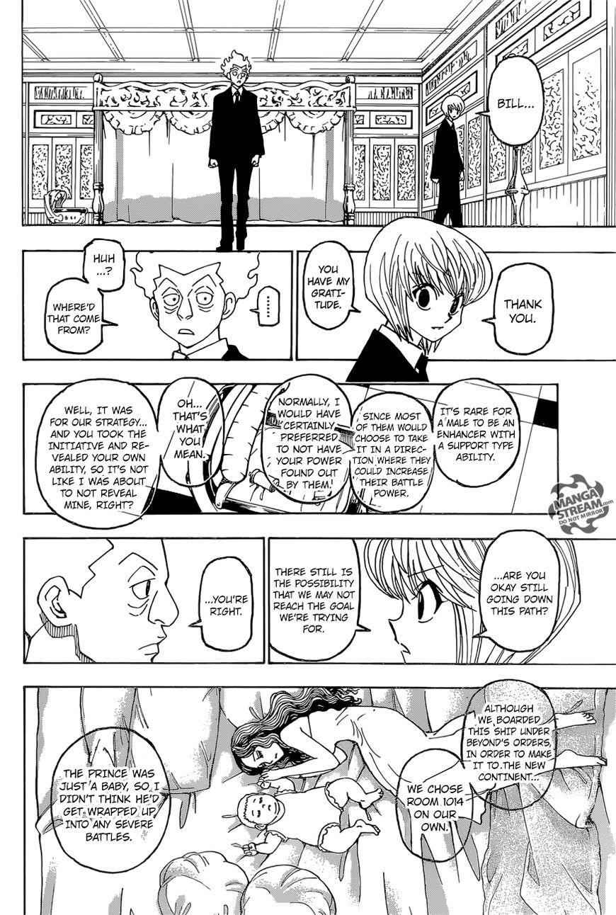Hunter X Hunter Chapter 388  Online Free Manga Read Image 15