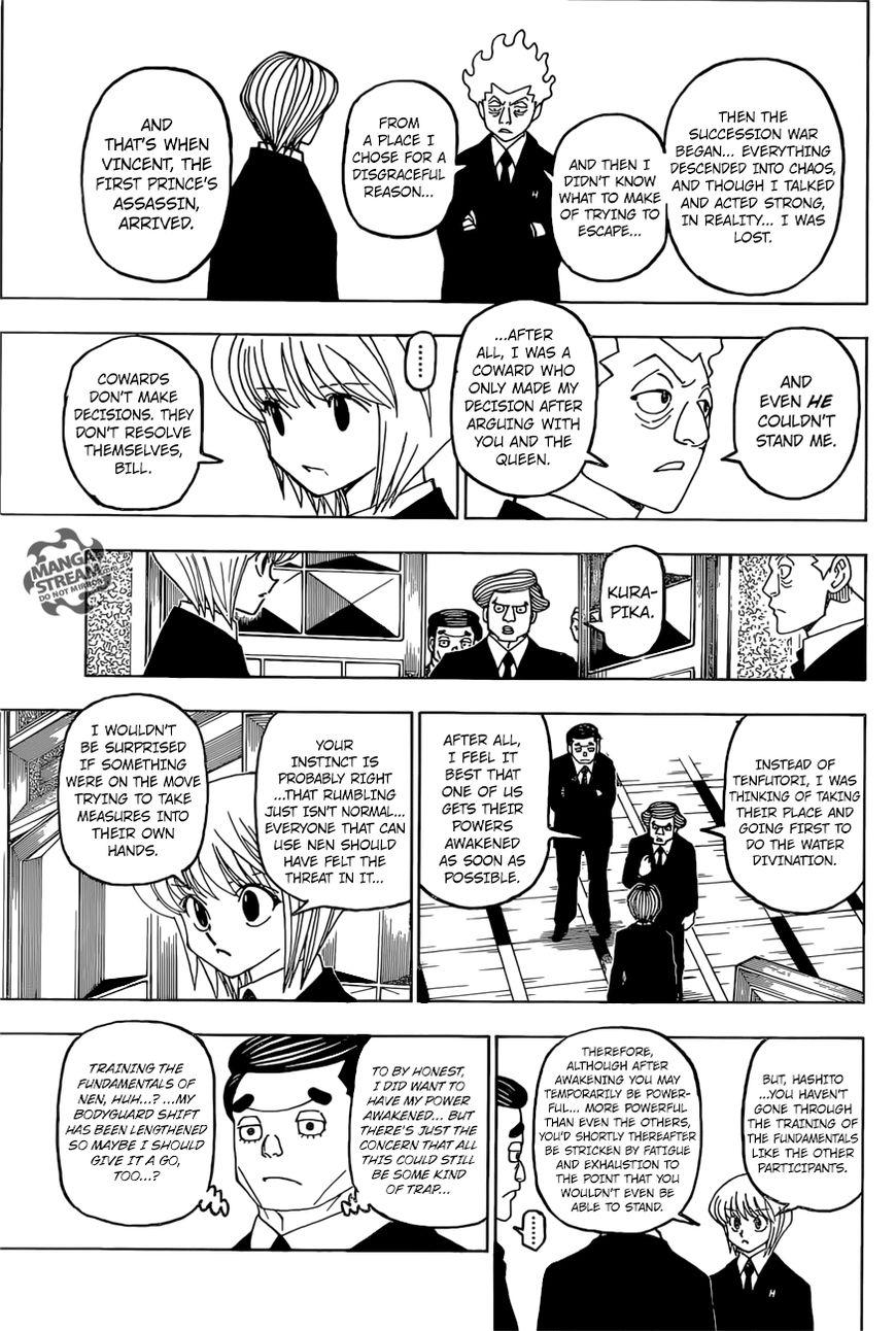 Hunter X Hunter Chapter 388  Online Free Manga Read Image 16