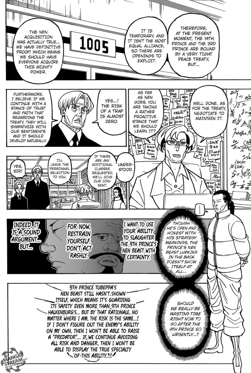 Hunter X Hunter Chapter 388  Online Free Manga Read Image 17