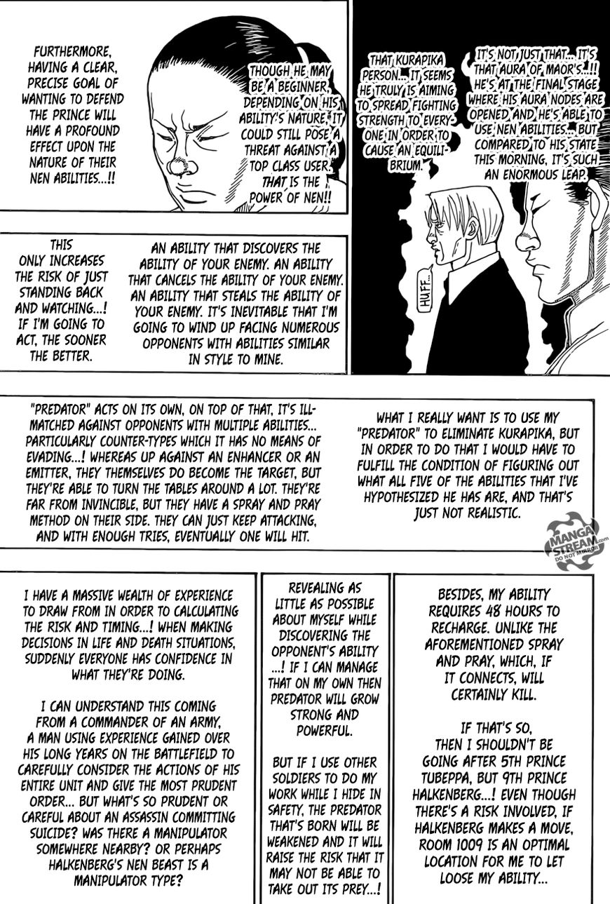 Hunter X Hunter Chapter 388  Online Free Manga Read Image 18
