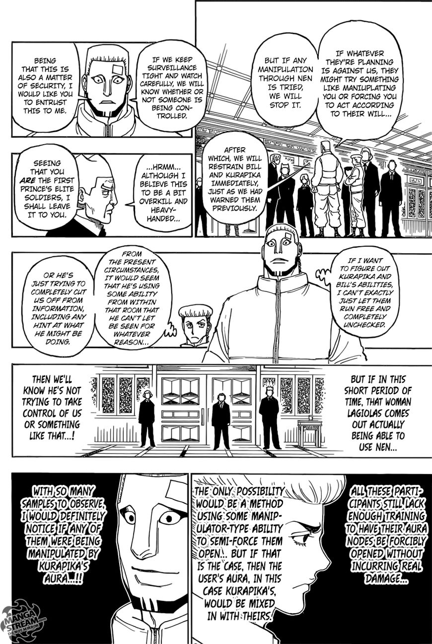 Hunter X Hunter Chapter 388  Online Free Manga Read Image 3