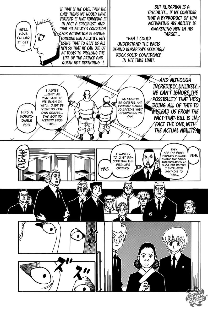 Hunter X Hunter Chapter 388  Online Free Manga Read Image 4