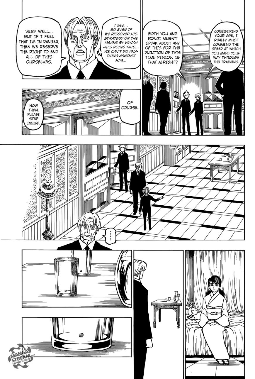 Hunter X Hunter Chapter 388  Online Free Manga Read Image 6