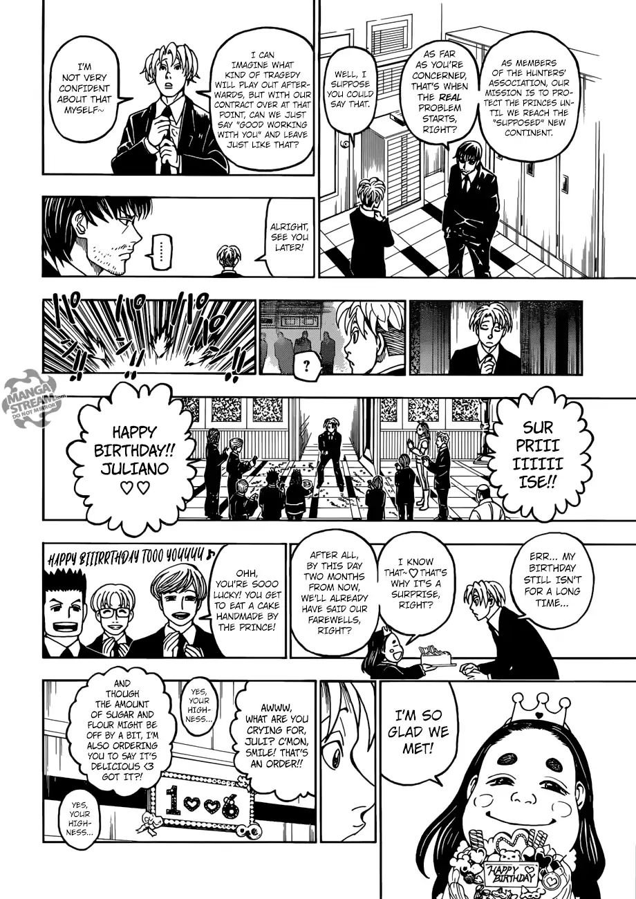 Hunter X Hunter Chapter 389  Online Free Manga Read Image 11