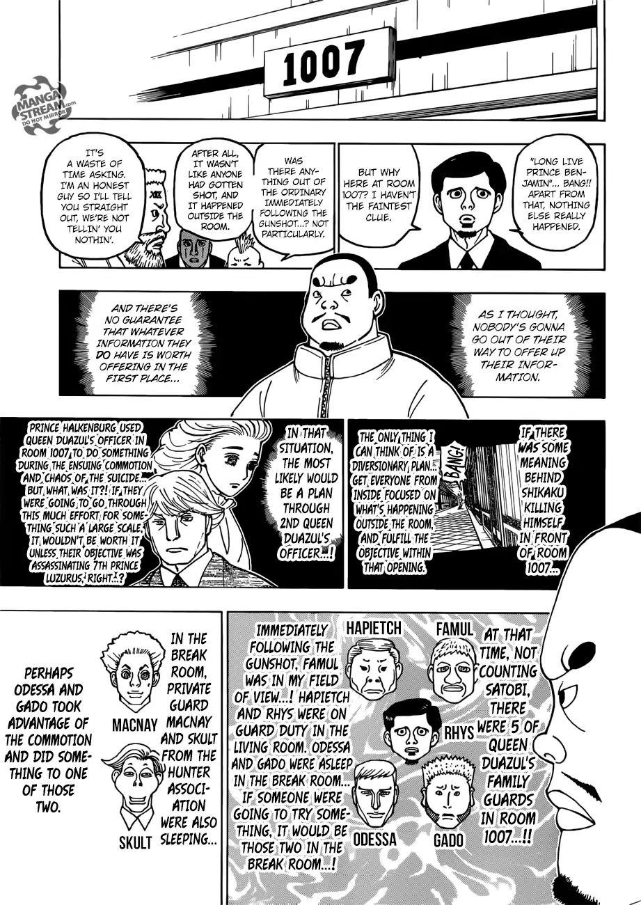 Hunter X Hunter Chapter 389  Online Free Manga Read Image 12