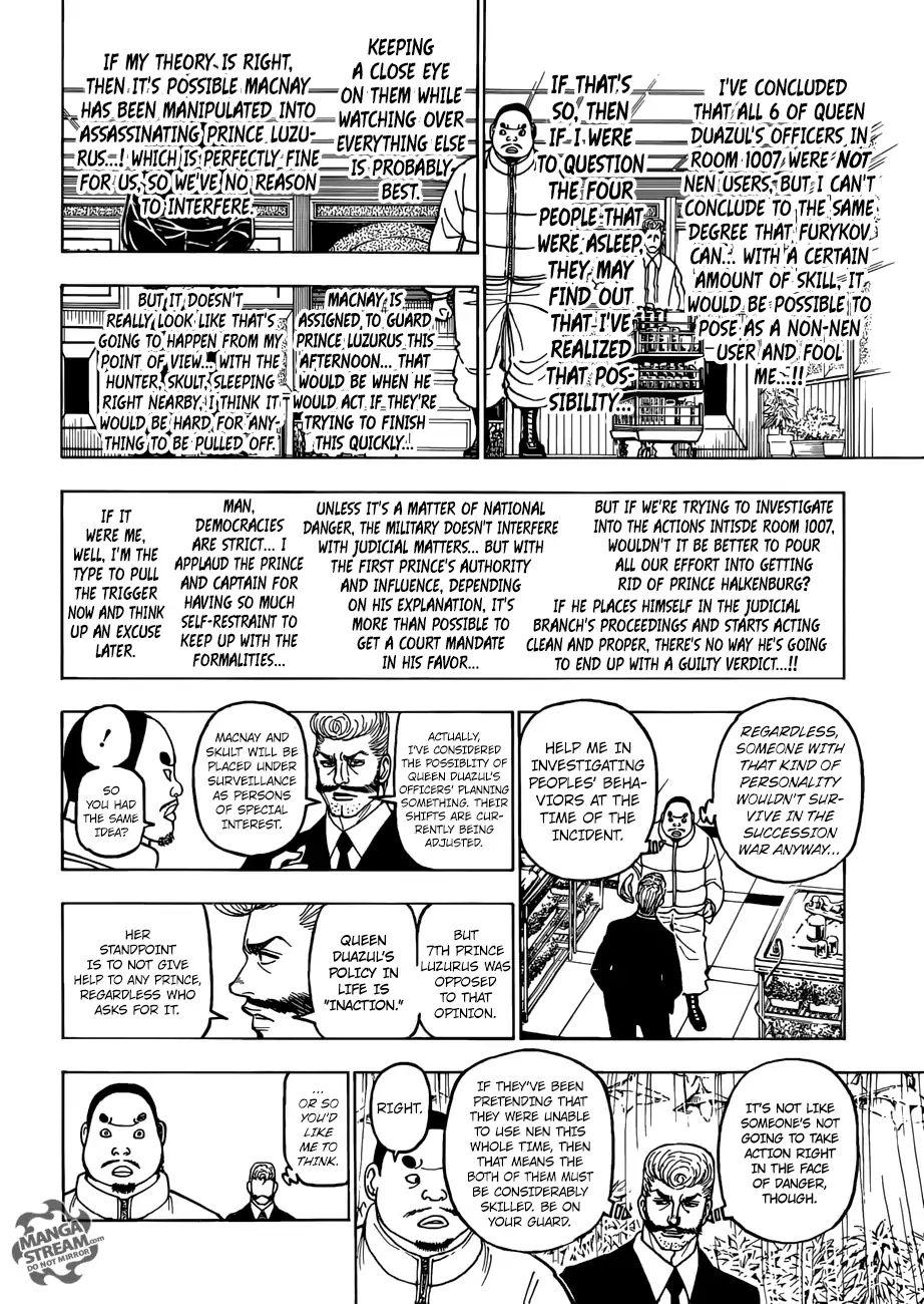 Hunter X Hunter Chapter 389  Online Free Manga Read Image 13