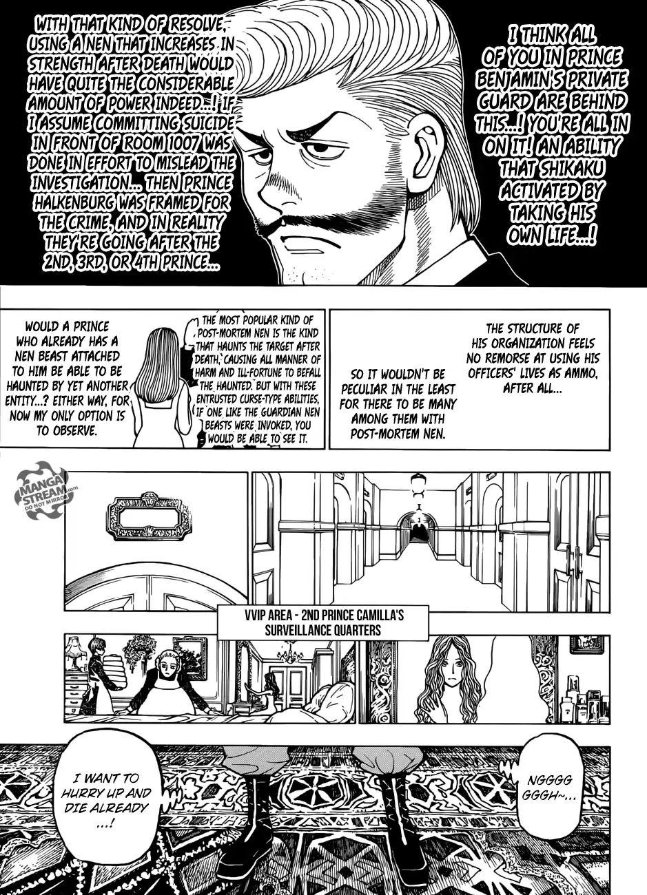 Hunter X Hunter Chapter 389  Online Free Manga Read Image 14