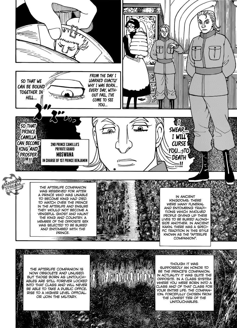 Hunter X Hunter Chapter 389  Online Free Manga Read Image 15