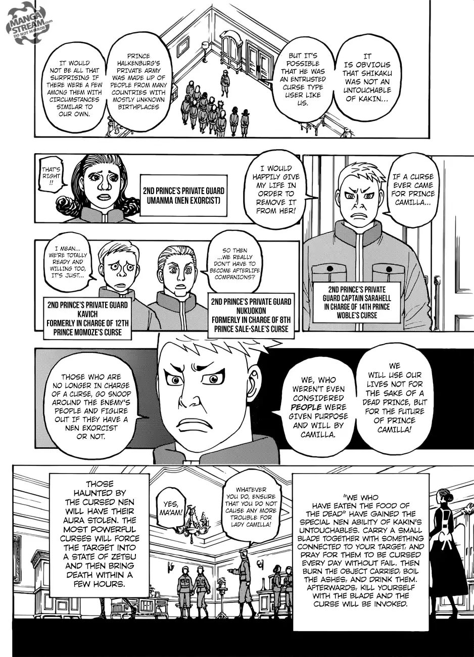 Hunter X Hunter Chapter 389  Online Free Manga Read Image 17